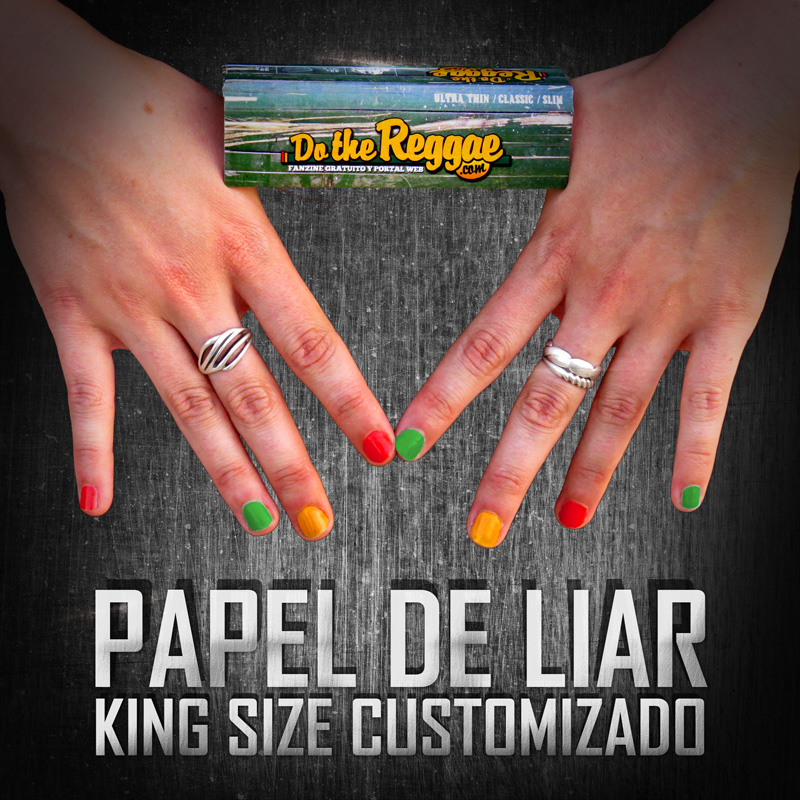 Papel de Liar Customizado DotheReggae