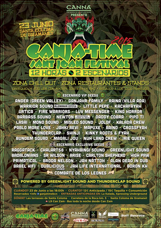ganja time 2015 - cartel
