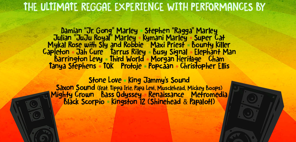 line up reggae cruise