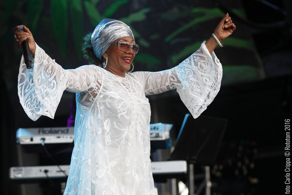 Benicassim, 13/08/2016. Marcia Griffiths (Mainstage). Photo by: Carlo Crippa © Rototom Sunsplash 2016.
