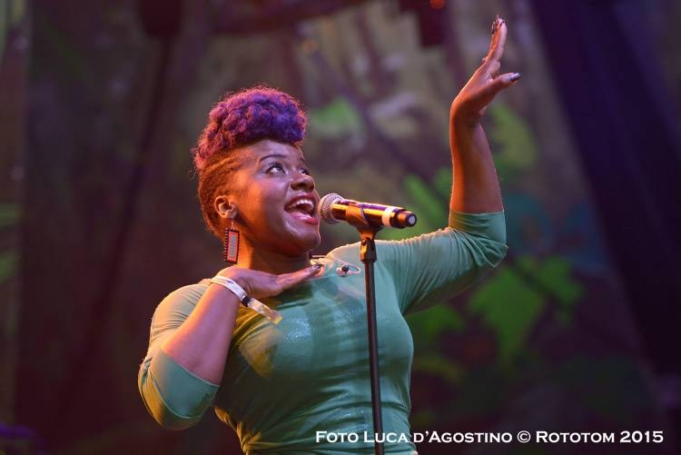 Benicassim, 22/08/2015 - Sunsplash 2015 - Main Stage / Etana - Photo by Luca D'Agostino © Rototom 2015
