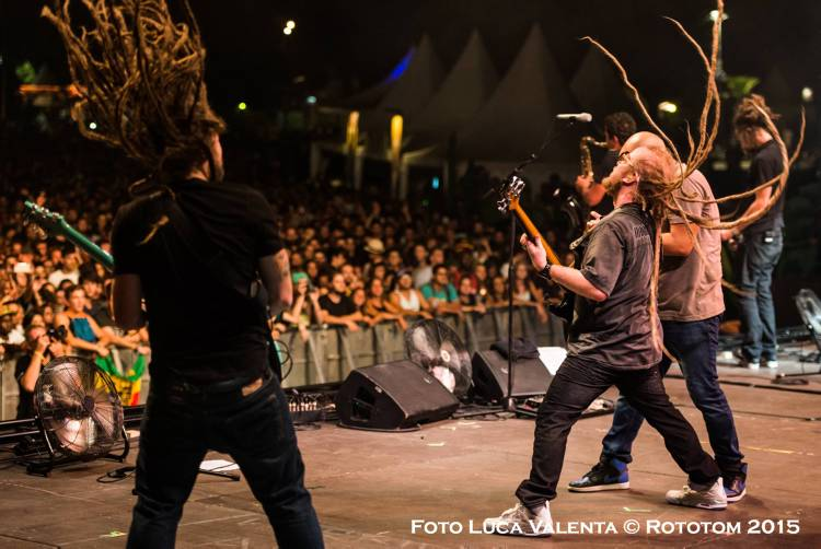 Benicassim, 22/08/2015 - Sunsplash 2015 - MAIN STAGE/SOJA - Photo by Luca Valenta © Rototom 2015