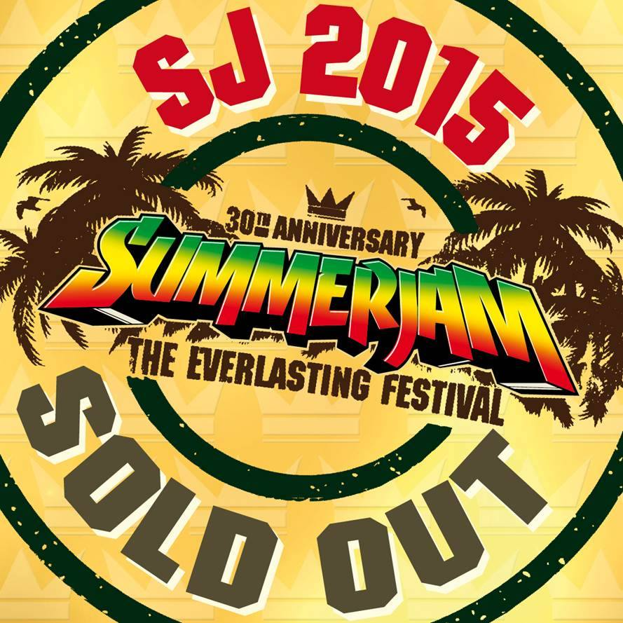 summerjam sold out