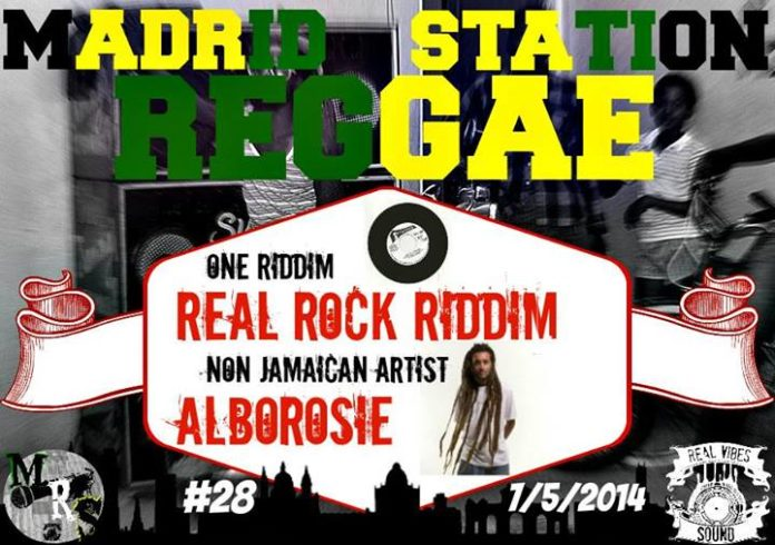 Madrid Reggae Station 28 - 3ª Temporada (Real Rock Riddim + Alborosie)
