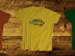 Camisetas Red Gold and Green